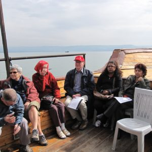 Boat ride at Sea of Galilee