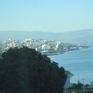 Tiberias from our Hotel room